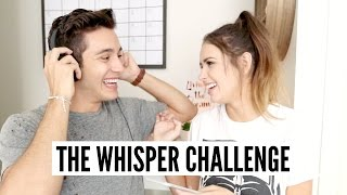 THE WHISPER CHALLENGE WITH MY FIANCÉ