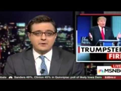 MSNBC's Chris Hayes Slams Fox News' Double Standard For Boycotting Debates