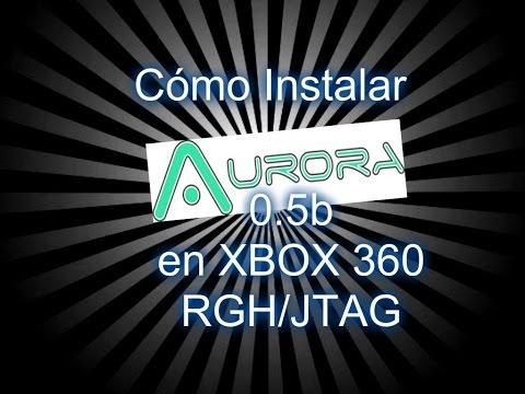 Cómo instalar Aurora 0.5b en xbox 360 RGH/JTAG