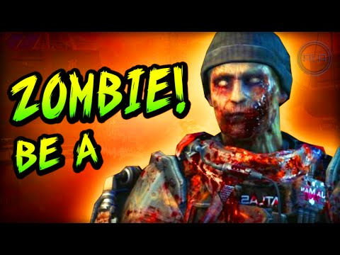 HOW TO BE A ZOMBIE! - Call of Duty: Advanced Warfare multiplayer!