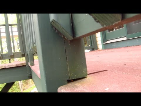 Deck Railing Post Danger How To Connect Youtube