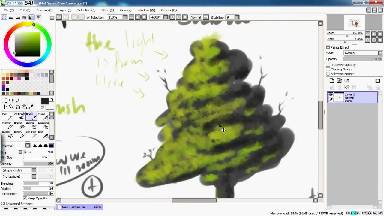 Leaves Paintings And Drawings How to Draw a Tree Leave With