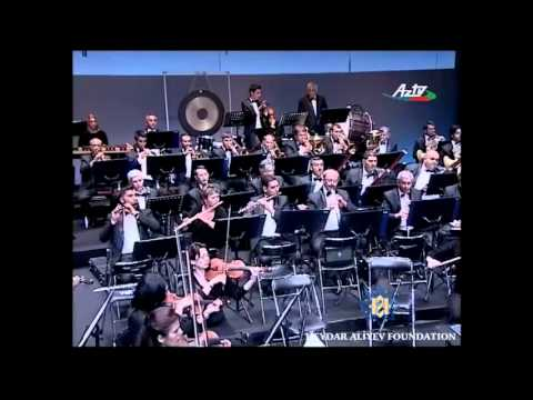 A concert by the Azerbaijan State Symphonic Orchestra in Cannes