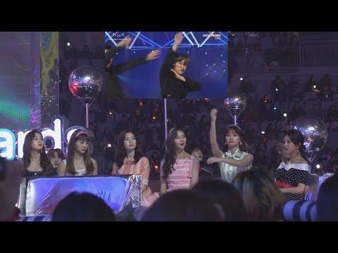 [FULL]  TWICE REACT TO EXO -  FOREVER + THE EVE + KO KO BOP - Melon Music Awards 2017