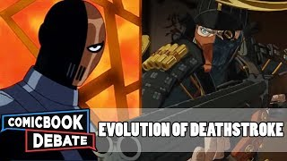 Evolution of Deathstroke in Cartoons in 9 Minutes (2017)