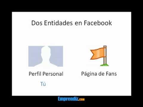 Pefil Personal vs Página de Fans de Facebook [PARTE 1 de 2]