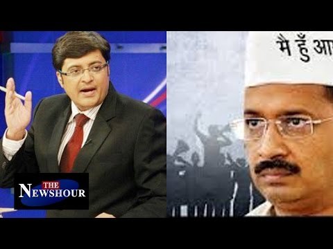 Arvind Kejriwal Or BJP - Who Is Responsible For The Delhi Mess? : The Newshour Debate (3rd Feb 2016)