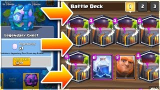 Won a Legendary Chest. Hope it's FURNACE!! - #SALTY Clash Royale Gameplay
