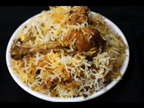 chicken dum biryani restaurant style - eid special recipe - hyderabadi chicken dum biryani