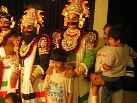 Yakshagana at Sri Krishna Vrundavana Edison NJ