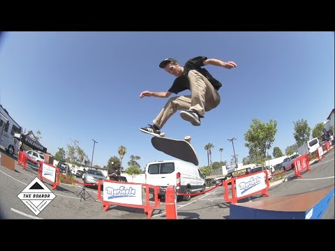 Marinela Skateboarding Demos on the West Coast