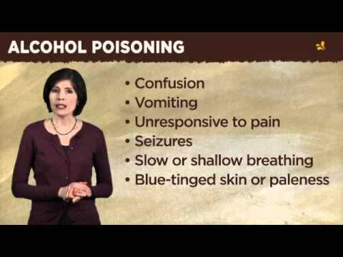 MSB Alcohol Poisoning video