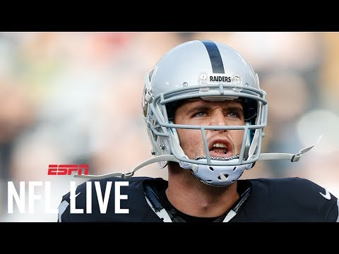 Raiders Had No Issues Paying Derek Carr High Salary  NFL Live  ESPN