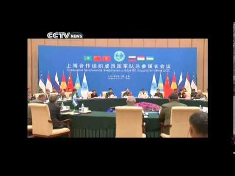 Xi Jinping meets SCO military chiefs in Beijing