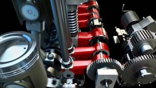 Caterpillar Flexible Camshaft Technology