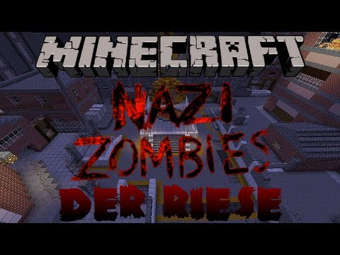Minecraft Nazi Zombies: Der Riese w/ GamerSouffle