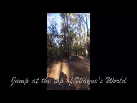 Wayne's World jump @ Bunya Conservation Park