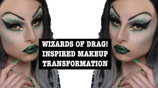 Wicked Witch | Wizards of Drag | Drag Race Inspired Transformation