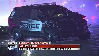 Dearborn Heights police involved in accident