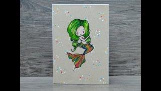 Miniseries - The Greeting Farm Mermaids - Merisa - Prismacolour - At You Spica