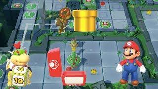 Super Mario Party - Domino Ruins Treasure Hunt (Bowser Jr/Mario vs Wario/Monty Mole) - Part #1