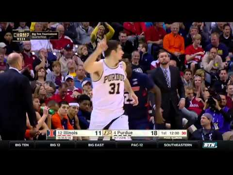 Illinois Vs. Purdue - 2016 Big Ten Men's Basketball Tournament