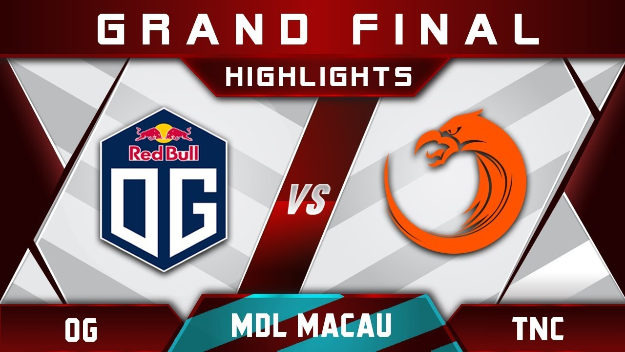 OG vs TNC Grand Final MDL Macau 2017 Minor Highlights Dota 2