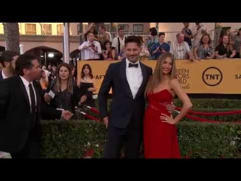 SAG Awards 2015: Sofía Vergara and Joe Manganiello Red Carpet