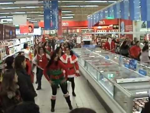 video oficial flash mob continente de almeirim