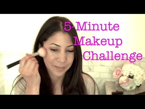 5 Minute Makeup Challenge & TAG