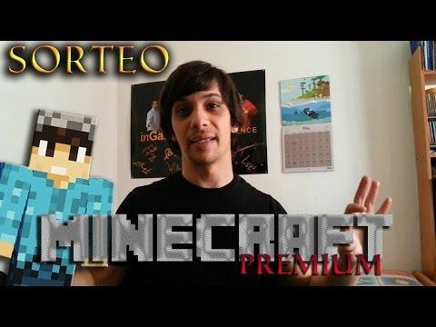 SORTEO CUENTA PREMIUM DE MINECRAFT