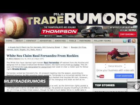 Thumbnail image for 'FutureSox TV: Rebounding Pitchers'