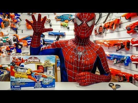 SPIDER-MAN REVIEWS HIS WEB SHOOTER!!