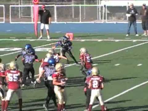 Matthew Zaravia's Defense Mm Youth Football Highlights 2011 video