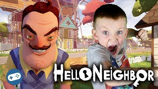 Hello Neighbor PS4 Gameplay with Liam