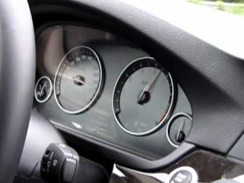 BMW 550i (F10) Beschleunigung 0-250