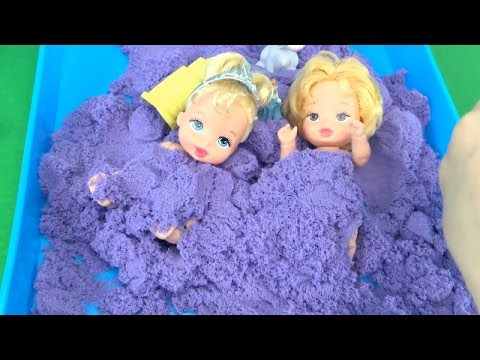 Baby Alive Play Date in the Park W/ Baby Disney Princess Cinderella and Aurora Baby Dolls