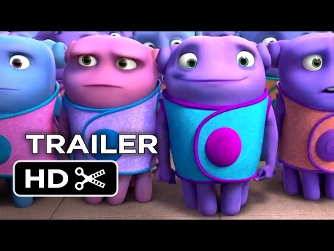 Home Official Trailer #1 (2015) - Jim Parsons, Rihanna Animated Movie HD