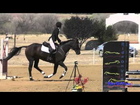 180S Courtney Stammerjohan on Bombay SR Novice Show Jumping Twin Rivers Ranch Sept 2015