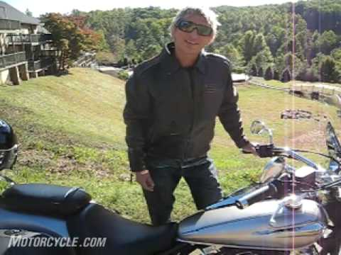 2009 Yamaha V-Star 950 Motorcycle Review Video