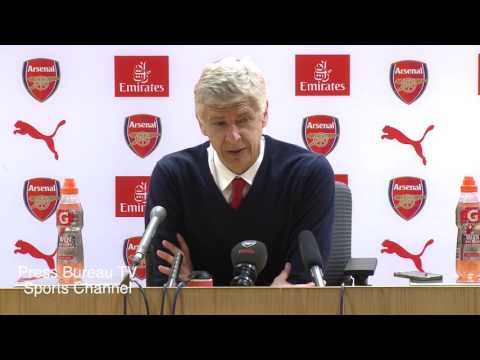 Arsene Wenger reaction Arsenal vs Aston Villa