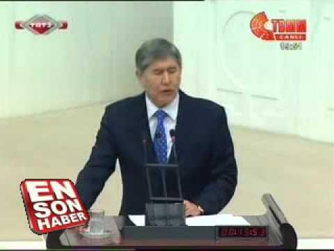 Kırgızistan Cumhurbaşkanı Türk Birliği Kurulsun