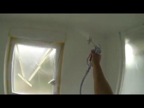 05:36 Farbe Spritzen Wände Und Decke Streichen War Gestern Heute Airless So  Geht,s Am Schnellsten
