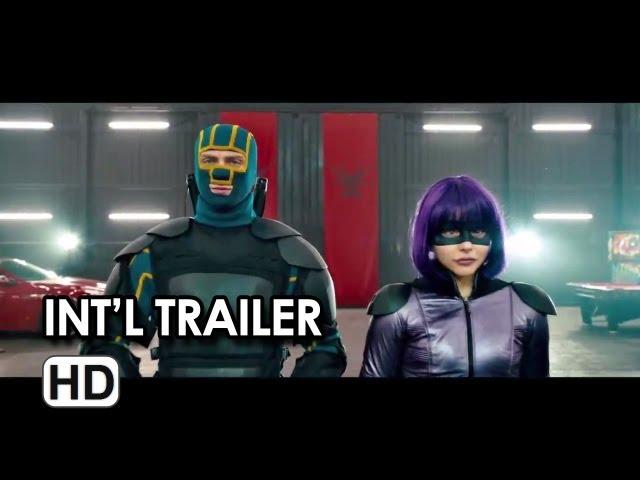 Kick-Ass 2 International Trailer - Chloe Moretz Movie HD