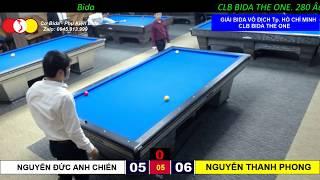 Nguyễn Đức Anh Chiến - Nguyễn Thanh Phong.GIẢI BIDA 3 BĂNG VÔ ĐỊCH TP. HỒ CHÍ MINH 2019