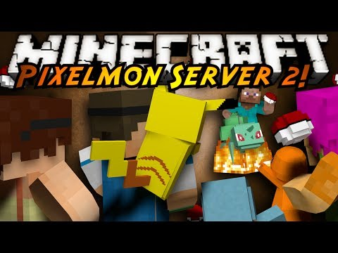 Minecraft Pixelmon Server : TRAINING DAY!