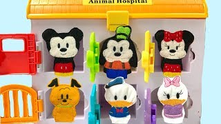 Learn Colors with Mickey Mouse Clubhouse Doc McStuffins Hospital Paw Patrol Magic   Fizzy Fun Toys