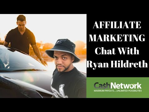 Affiliate Marketing Discussion With Ryan Hildreth - Interview On Making Money Online