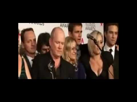 EastEnders Cast at the NTA's 2011  (sing-along)