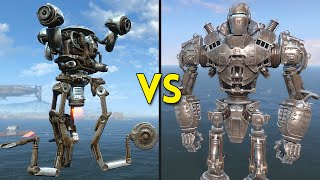 Fallout 4 - Liberty Prime VS 50 Mr. Handy - Battles #9